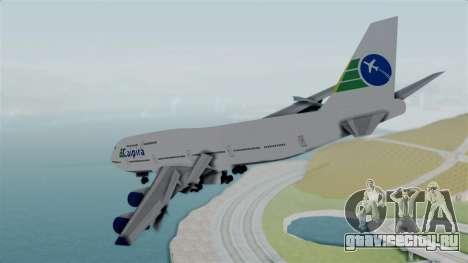 GTA 5 Jumbo Jet v1.0 Caipira Air для GTA San Andreas вид справа