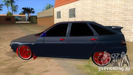 ВАЗ 2112 Бродяга для GTA San Andreas вид слева