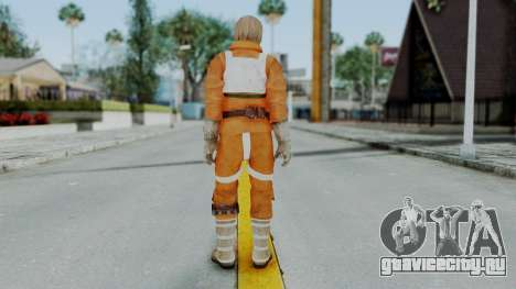SWTFU - Luke Skywalker Pilot Outfit для GTA San Andreas третий скриншот