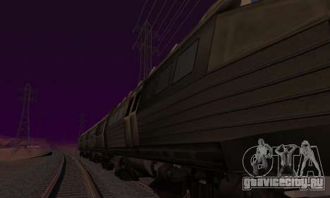 Batman Begins Monorail Train Vagon v1 для GTA San Andreas двигатель