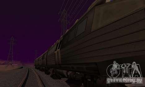 Batman Begins Monorail Train Vagon v1 для GTA San Andreas двигатель