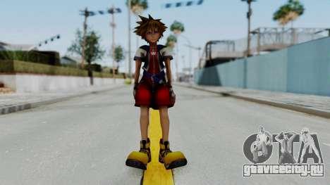 Kingdom Hearts 2 - Sora Early Costume Fix для GTA San Andreas второй скриншот