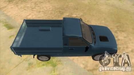 Dacia 1305 Drop-Side для GTA San Andreas вид изнутри
