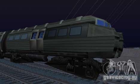 Batman Begins Monorail Train Vagon v1 для GTA San Andreas вид сзади