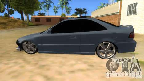 Honda Civic Coupe 1995 для GTA San Andreas вид слева