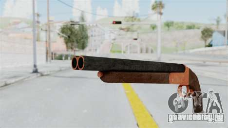 Double Barrel Shotgun Orange Tint (Lowriders CC) для GTA San Andreas второй скриншот