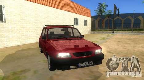 Dacia 1310L 1999 для GTA San Andreas вид сзади