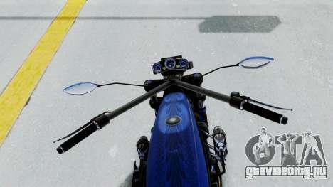 Turbike 4.0 для GTA San Andreas вид сзади