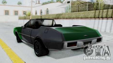 Clover Cabrio для GTA San Andreas вид слева