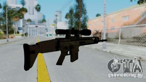 SCAR-20 v1 No Supressor для GTA San Andreas второй скриншот