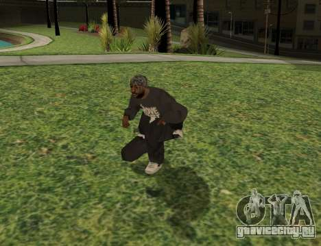 Black fam1 для GTA San Andreas третий скриншот
