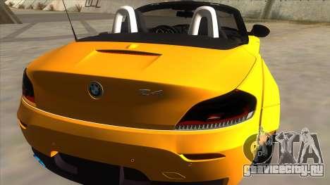BMW Z4 Liberty Walk Performance для GTA San Andreas вид справа