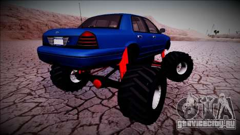 2003 Ford Crown Victoria Monster Truck для GTA San Andreas
