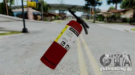 No More Room in Hell - Fire Extingusher для GTA San Andreas
