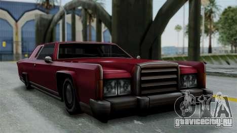 Remington Las Vivas для GTA San Andreas вид сзади слева
