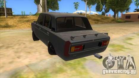 VAZ 2106 Drift Edition для GTA San Andreas вид сзади слева