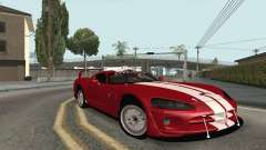 Dodge Viper Competition Coupe для GTA San Andreas