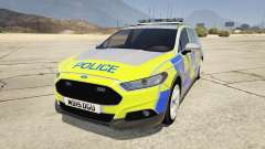 2014 Police Ford Mondeo Dog Section