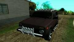 Ваз Нива 2121 Лесник для GTA San Andreas