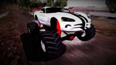 Dodge Viper SRT10 Monster Truck для GTA San Andreas