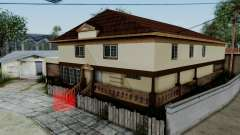 CJ House with Frame and Book для GTA San Andreas