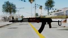 New HD AK-47 для GTA San Andreas
