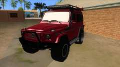 Mercedes-Benz G500 Off Road V3.0 для GTA San Andreas