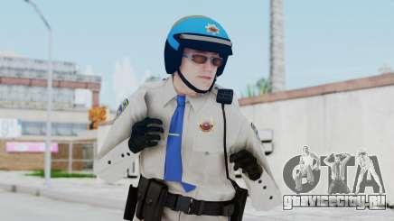 GTA 5 Cop-Biker для GTA San Andreas