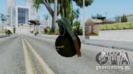 No More Room in Hell - Grenade для GTA San Andreas