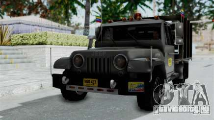 Jeep con Estacas Stylo Colombia для GTA San Andreas