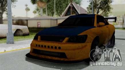 GTA 5 Karin Sultan RS Drift Big Spoiler для GTA San Andreas