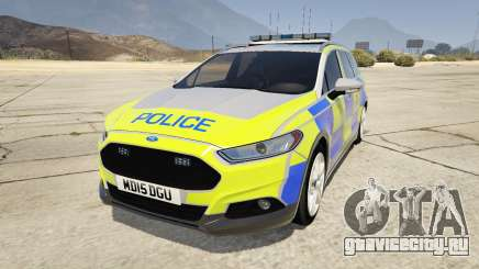2014 Police Ford Mondeo Dog Section для GTA 5