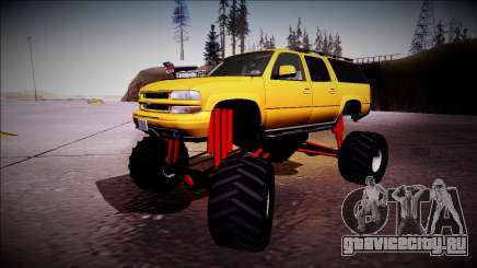 2003 Chevrolet Suburban Monster Truck для GTA San Andreas