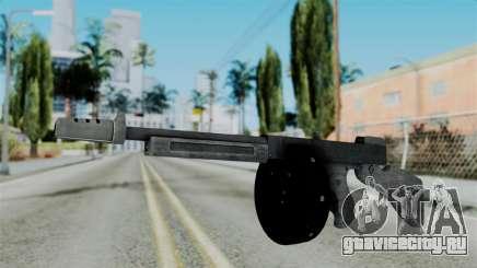 GTA 5 Gusenberg Sweeper - Misterix 4 Weapons для GTA San Andreas