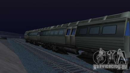 Batman Begins Monorail Train Vagon v1 для GTA San Andreas