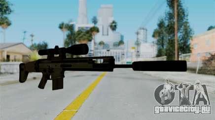SCAR-20 v1 Supressor для GTA San Andreas