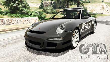 Porsche 911 GT3 RS Pursuit Edition для GTA 5