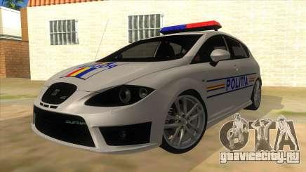 Seat Leon Cupra Romania Police для GTA San Andreas