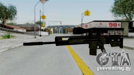 SCAR-20 v2 No Supressor для GTA San Andreas