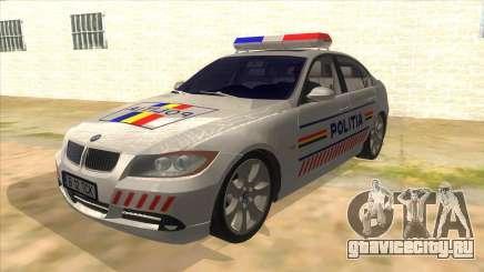 BMW 330XD Romania Police для GTA San Andreas