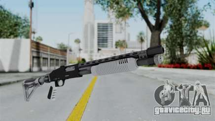 GTA 5 Pump Shotgun - Misterix 4 Weapons для GTA San Andreas