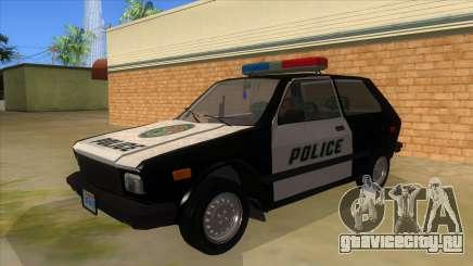 Yugo GV Police для GTA San Andreas