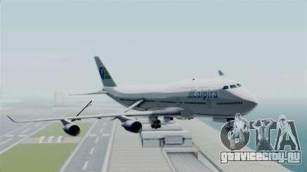 GTA 5 Jumbo Jet v1.0 Caipira Air для GTA San Andreas