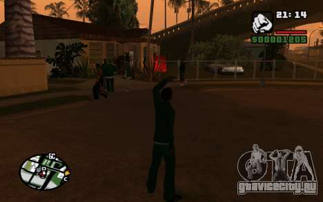 CJ Animation ped для GTA San Andreas третий скриншот