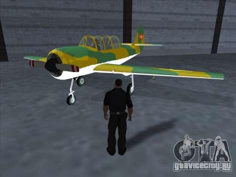 Як-52 для GTA San Andreas