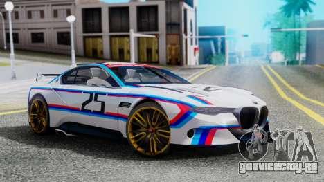 2015 BMW CSL 3.0 Hommage R для GTA San Andreas