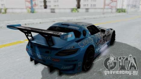 Mercedes-Benz SLS AMG GT3 PJ5 для GTA San Andreas салон