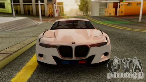 2015 BMW CSL 3.0 Hommage R для GTA San Andreas вид сзади слева