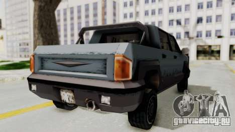 GTA 3 Cartel Cruiser для GTA San Andreas вид сзади слева