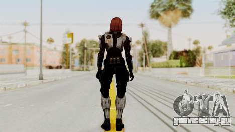 Mass Effect 3 Female Shepard Ajax Armor для GTA San Andreas третий скриншот
